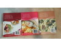 Classic Indian, Chinese and Italian recipe/cook books