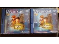 SHENMUE Sega Dreamcast Game Boxed and Complete 4 Discs