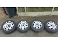 """VW T5-T6 17"""" Steel wheels&tyres"""