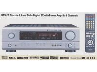 Denon AVR-1604 AV Surround Receiver - fully operational with remote, manual, box. Seller upgrading.