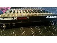 Alesis Multimix 16 Firewire Mixer