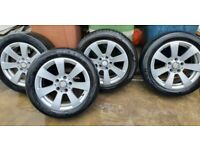 2010 mercedes alloy wheels