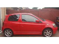 TOYOTA YARIS T SPORTS 1.5 PETROL RED HATCHBACK ALLOYS CD PLAYER ECT