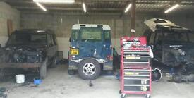 Land Rover Discovery 300tdi and TD5 breaking