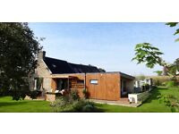 Stylish renovated country cottage in Normandy - every entertainer and gardener's dream