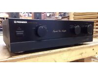 Pioneer A400X Stereo Amplifier, Revised version of the Legendary A400
