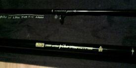 Leeda 2000 Series 11ft 2.5lb TC pike / carp rod