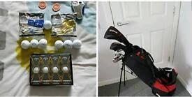 Wilson full set golf clubs & accessories