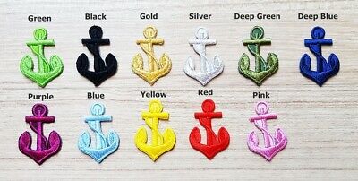 Sailor Diy Costume (Mini Anchor Rope Marine Sailor Patches for Bags Jacket Cap T-shirt Costume)