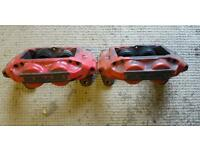 Subaru 4 pot calipers