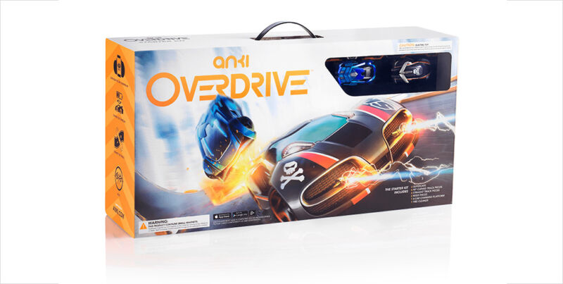 New Anki OVERDRIVE Starter Kit 2 ROBOTIC SUPERCARS 12 Piece Track +1Yr WARRANTY