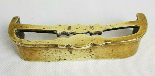 Vintage Miniature Brass Fire Fender Hearth Dolls House 4""