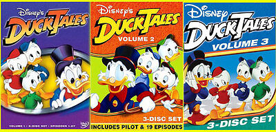 DUCKTALES Volume 1 2 3 DVD Sets NEW Vol.1-3 Disney's Duck Tales 9 Disc (Ducktales Volume 2 Dvd)