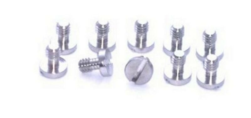 "Ten 1/4"" Metal Screw for Camera / Tripod / QR Plate New"