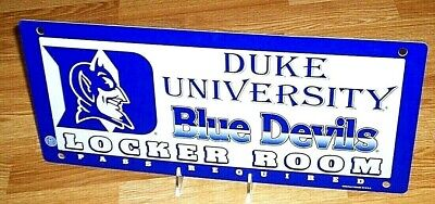 Duke Blue Devils NCAA Locker Room Sign *Free Shipping