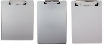 Saunders Aluminum Clipboard With Low Profile Clip Select Size