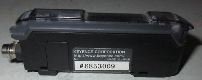 Keyence FS-V33CP Sensor Fiber Optic Sensor Amplifier 12-24 VDC FSV33CP Used Test