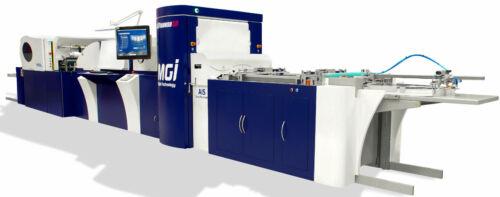 MGI JETvarnish 3D Digital Press iFoil Inspected & Certified to go under service