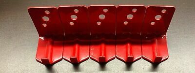 Lot Of 5-new Hook Style Wall Mount 20 Size Fire Extinguisher Bracket Universal