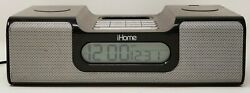 iHome iH6 Clock Radio and Stereo Speaker System w/ line-in Audio!