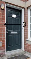 Handyman / Electrician Wanted - to move door bell