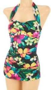 $127~DreamShaper by Miraclesuit  Caitlin Halter One-Piece Swimsuit~A232224