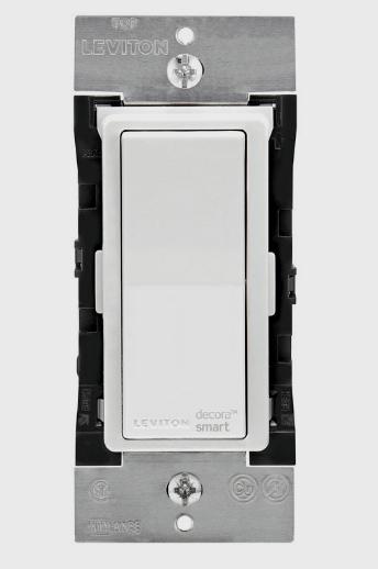 New! LEVITON Decora Smart WiFi In-Wall WIRELESS LIGHT SWITCH 30ft Range DW15S-RZ