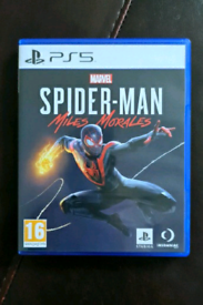 Spider-Man Miles Morales - PS5 - Like New