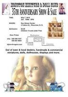 MONCTON MINIATURE & DOLL CLUB 35TH ANNIVERSARY SHOW & SALE