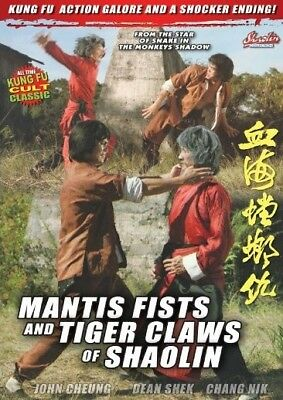 Mantis Fists and Tiger Claws of Shaolin - Hong Kong RARE Kung Fu Martial Arts