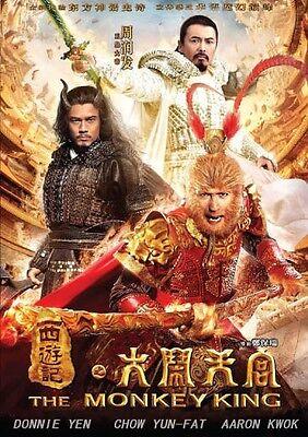 THE MONKEY KING  -Hong Kong RARE Kung Fu Martial Arts Action movie - NEW DVD