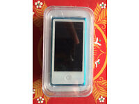 blue iPod nano, 16GB 7th generation still in box