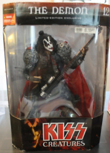 "MCFARLANE TOYS KISS 12"" THE DEMON FIGURE GENE SIMMONS Limited Ed"