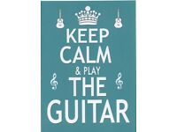 Keep Calm & Play the Guitar