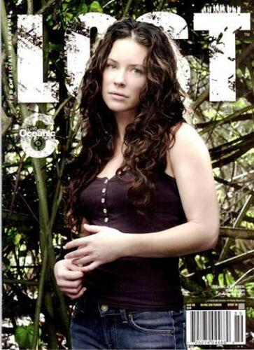 LOST OFFICAL MAGAZINE -LIMITED EDITION 2008 YEARBOOK #18B - KATE EVAGELINA LILY