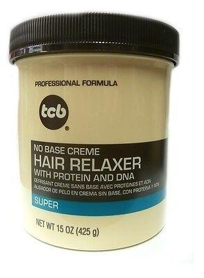 Base Creme Hair Relaxer (TCB Relaxer / Glättungscreme No Base Creme Hair Relaxer SUPER 425g (15oz) )