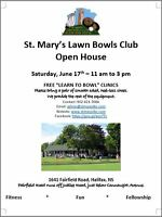 "Open House & FREE ""Learn to Bowl"" Clinics, June 17th, 11-3pm"