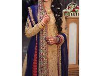 BRIDAL PAKISTANI LENGHA, ASIAN WEDDING DRESS