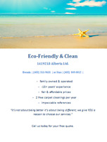 Eco-Friendly & Clean - Commercial Cleaners