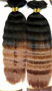 100 Human Braiding Hair