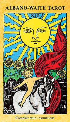 NEW Albano Waite Tarot Deck Cards Frankie Albano