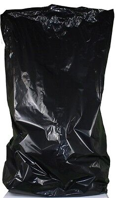 25 x Black Compactor Sacks (10x34x47) RUBBISH HOUSEHOLD WASTE  REFUSE (1307/4)