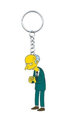 The Simpsons TV Series Montgomery Burns 3-D PVC Figural Key Chain NEW UNUSED (Montgomery Burns)