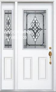 Entry Door Front SideLite  Custom Size