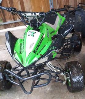 Semi auto four wheeler 125cc