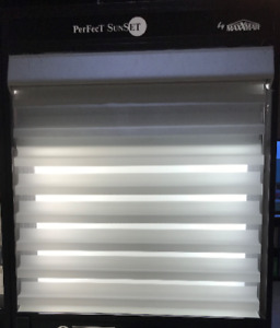 BRAND NEW! White Silhouette Blinds (K)