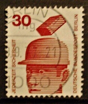 BRIEFMARKEN BERLIN GESTEMPELT MINR 406 A 1785
