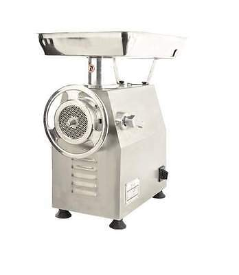 Omcan Mg-cn-0032-m 32 2.75 Throat Professional Stainless Steel Meat Grinder