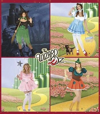 SeXy! Wizard Of Oz HALLOWEEN COSTUMES SEWING PATTERN PLUS SIZE - Size 24w Halloween Costumes