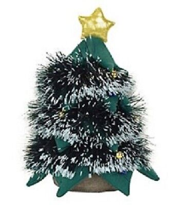 """Dept. 56 Animated Christmas Tree with LED Lights 14"""" to 21"""" High Plays Music NEW"""
